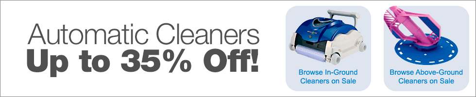 Automatic Cleaners on Sale